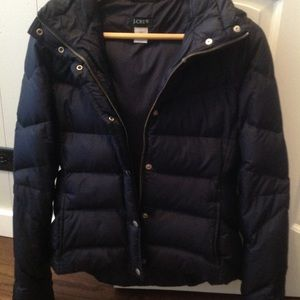 J Crew Down Puffer Jacket Size Small